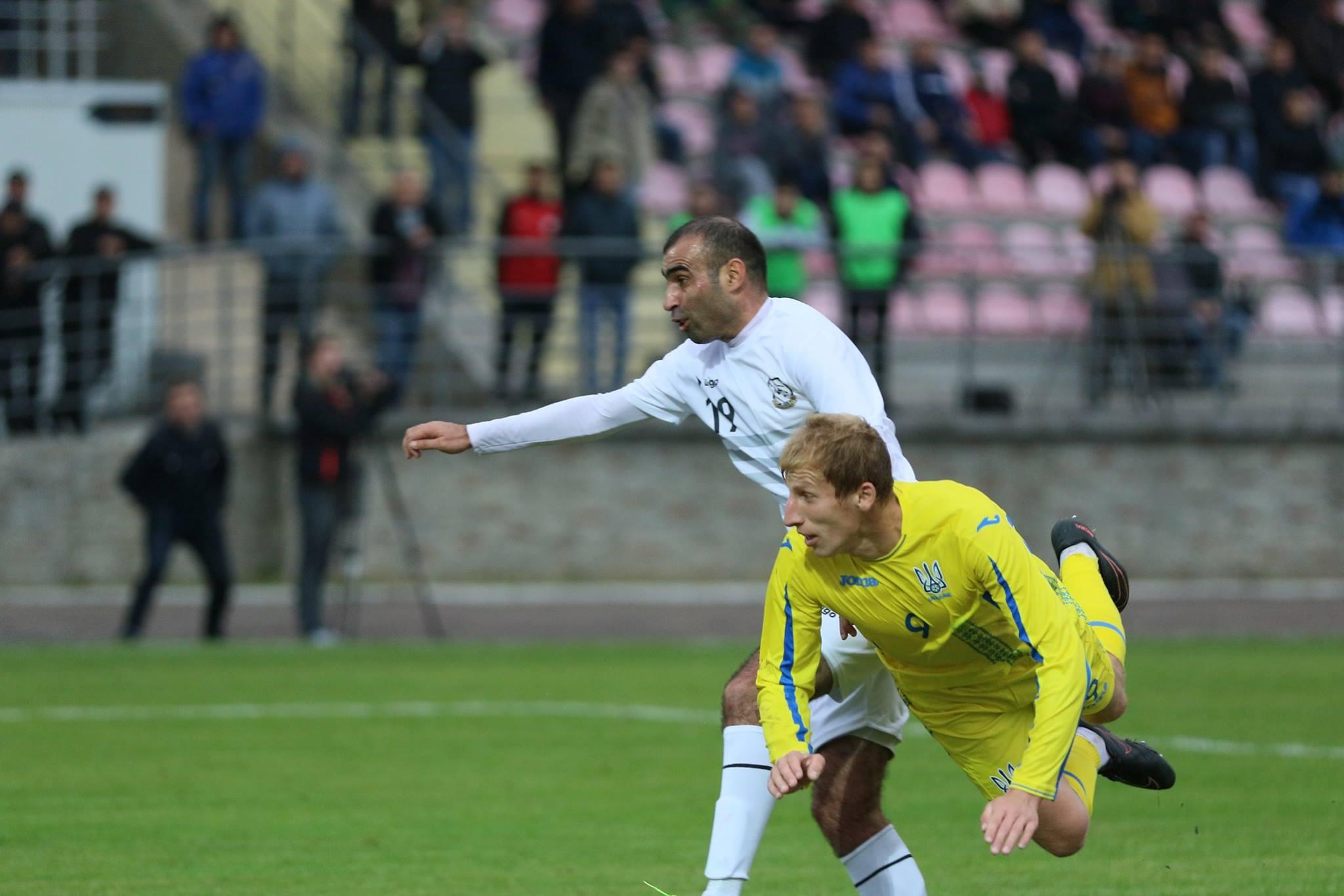 Цюпка забиває за збірну України